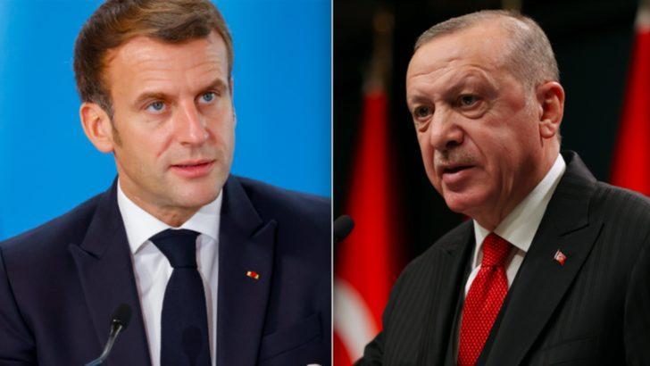 """Macron'dan Erdoğan'a yanıt: """"Hakaret Doğru Yöntem Değil''"""