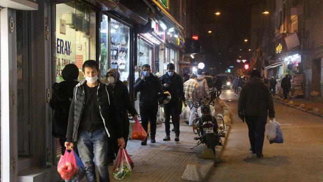 İstanbul'da alışveriş yoğunluğu