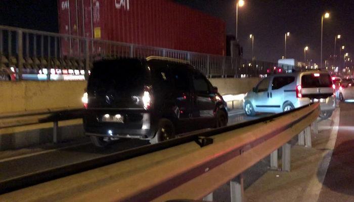Ters yönde geri geri giden sürücüler kameralara yakalandı