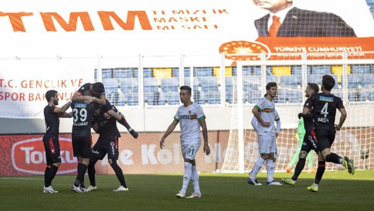 ÖZET | Gençlerbirliği - Aytemiz Alanyaspor maç sonucu: 2-1