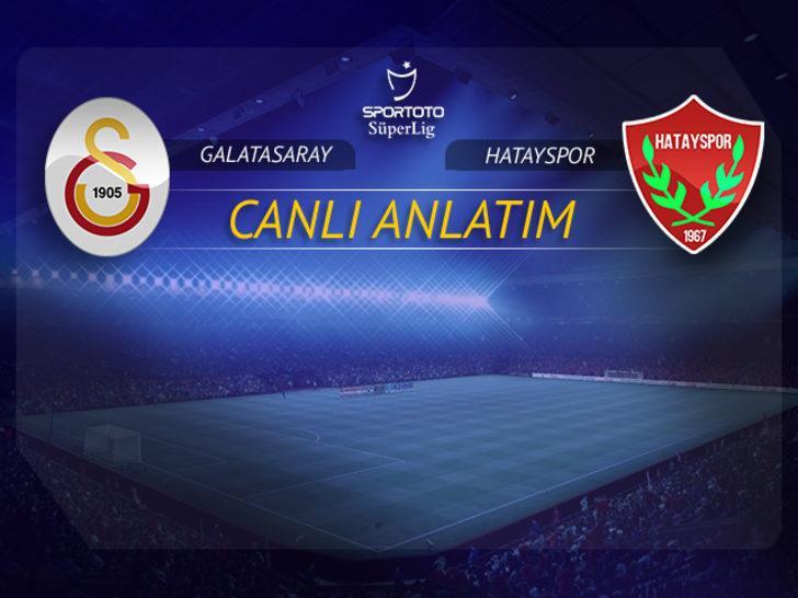 Galatasaray - Hatayspor | CANLI