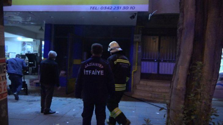 Gaziantep'te komşuların dikkati faciayı önledi