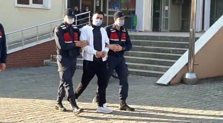 Ticari takside uyuşturucuyla yakalanan şüpheli tutuklandı