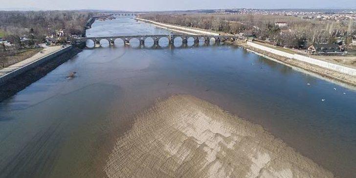 Edirne'de yağışlar kasım ayında normaline göre yüzde 96 azalış gösterdi