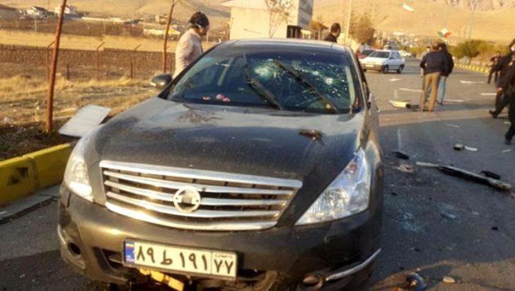 İran Devrim Muhafızları Komutan Vekili Fadvi: Fahrizade, uydudan kontrol edilen silahla öldürüldü