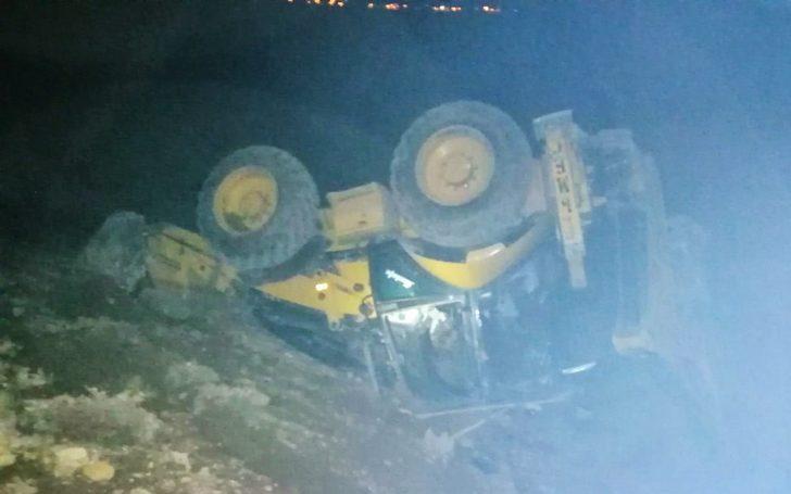 Kahramanmaraş'ta iş makinesi kazası: 1 ölü