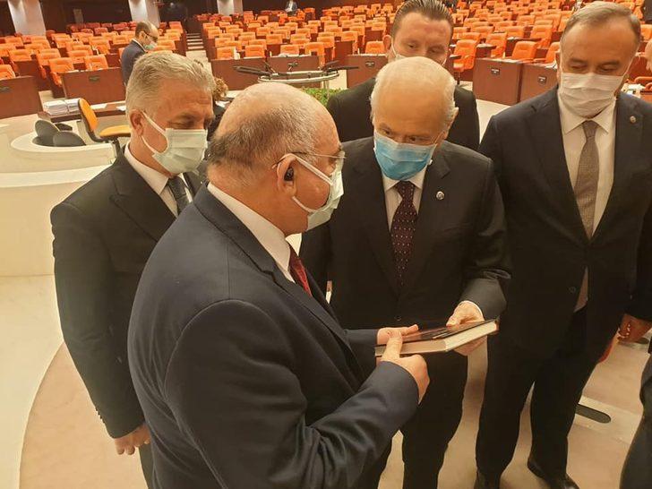 MHP Lideri Bahçeli'ye sürpriz hediye! 'Hayatta olsa kendi verecekti'