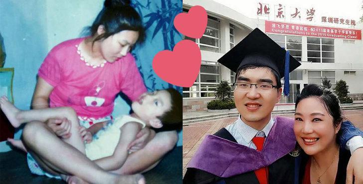 Engelli olduğu için babası terk etti:  Annesinin fedakarlıklarıyla şimdi Harvard'da