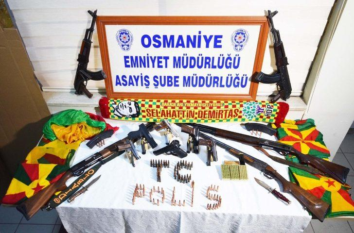 Osmaniye'de silahlı kavga: 13 gözaltı