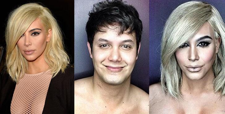 Makyajın gücü adına: Yaptığı makyajlarla kendisini istediği ünlü kadına dönüştürüyor!