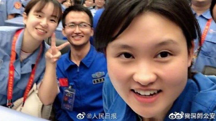 Zhou Chengyu: Çin'in Chang'e-5 Ay misyonunun ardındaki 24 yaşındaki kadın