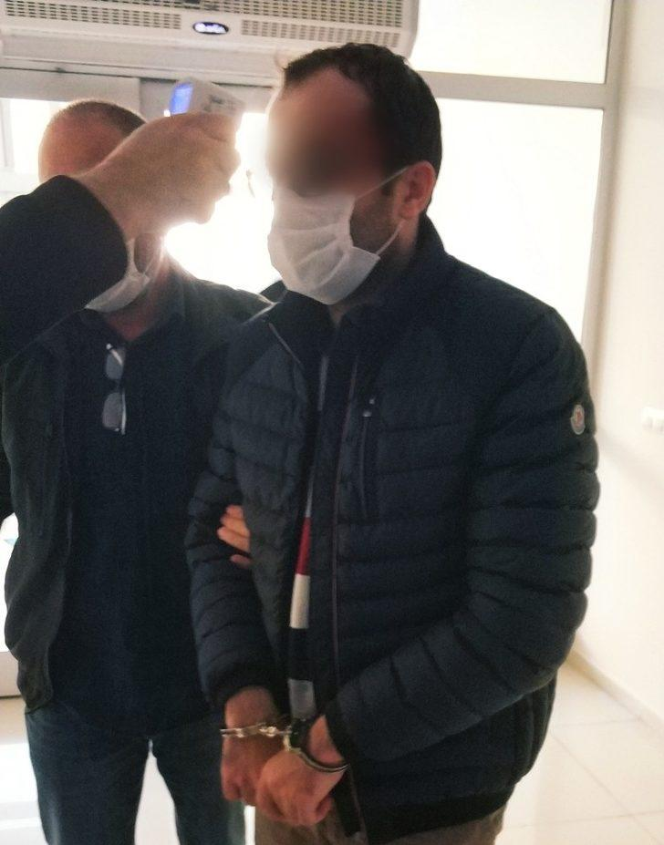 Samsun'da FETÖ'nün gaybubet evinde yakalanan şahıs adliyeye sevk edildi