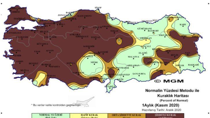 Türkiye'de Kuraklık Krizi mi Kapıda?
