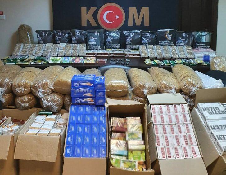 İzmir'de kaçakçılık operasyonu: 3 gözaltı