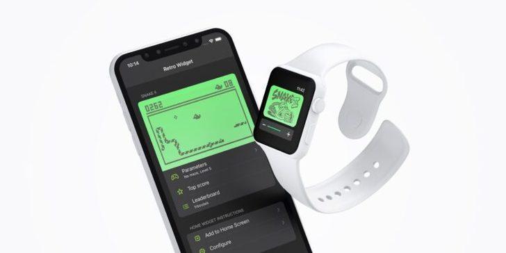 Retro Widget 2 ile yılan oyunu iPhone'a geliyor