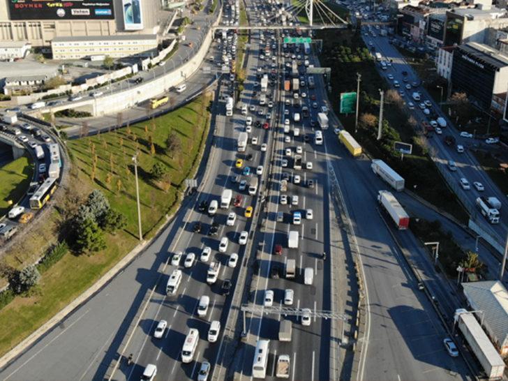 İstanbul'da kısıtlama öncesi trafikte son durum!