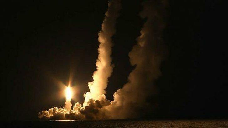 Rusya, 8 bin kilometre menzilli balistik füze denemesi yaptı