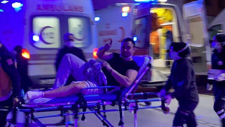Sakarya'da silahlı saldırıda yaralanan şahıstan pes dedirten hareket