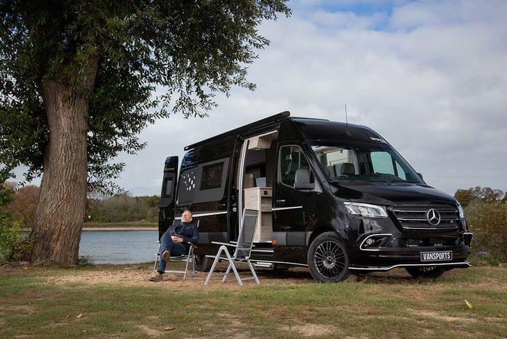 Kamp severlere özel Mercedes Sprinter