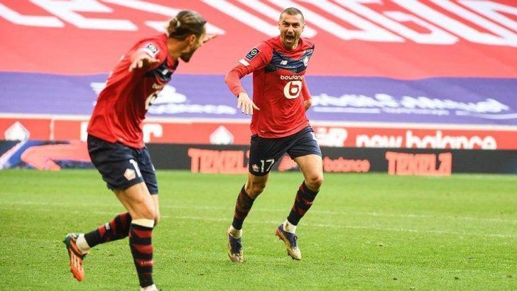 Lille 6 hafta sonra puan kaybetti