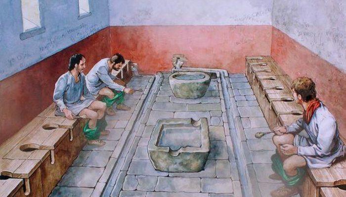 Latrinalar ve lazımlıklar: Antik Roma'da tuvalet alışkanlığı