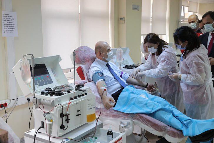Koronavirüsü yenen Bakan Soylu, immün plazma bağışçısı oldu