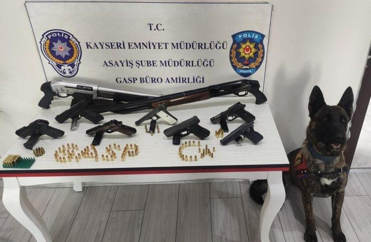 Kayseri'de suç örgütü operasyonu: 13 gözaltı