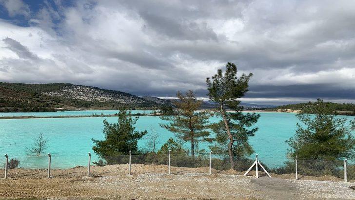 Yatağan Mavi Göl nerede? Yatağan Mavi Göl yol tarifi - Yatağan kül gölü