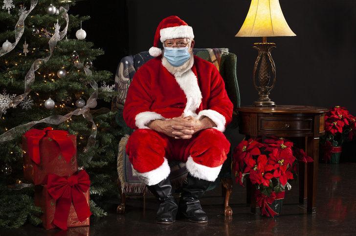 ABD'de Noel babanın Covid-19 testi pozitif çıktı, 50 çocuğa uyarı gitti