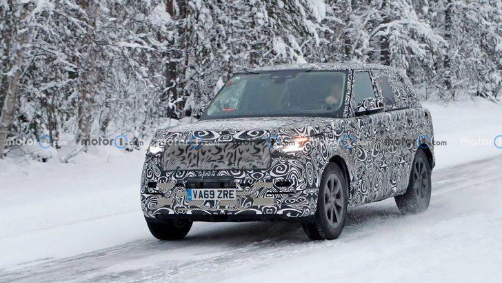 2021 Range Rover kamuflajlı yakalandı