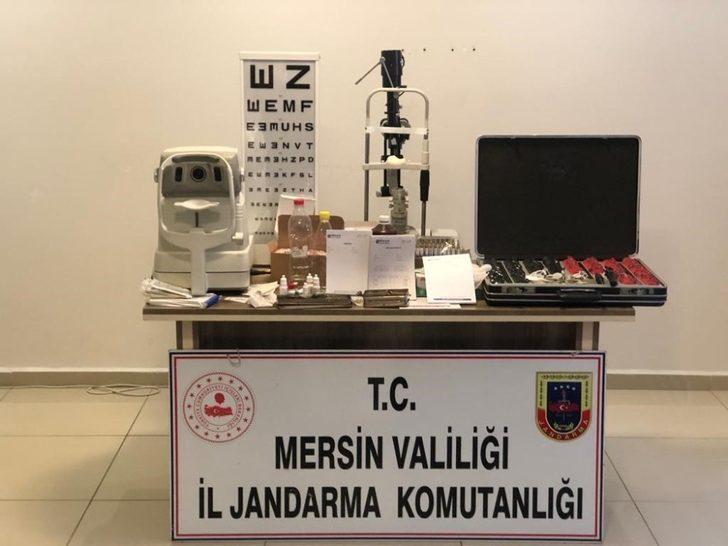 Mersin'de yabancı uyruklu şahısların işlettiği kaçak poliklinik ortaya çıkarıldı