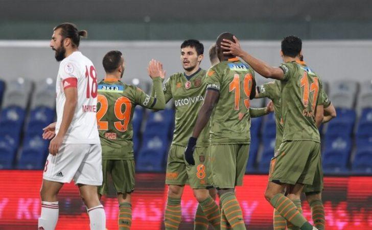 MAÇ SONUCU: Başakşehir 7-0 Turgutluspor