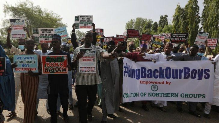 Nijerya'da Boko Haram'ın kaçırdığı 350'ye yakın çocuk serbest bırakıldı