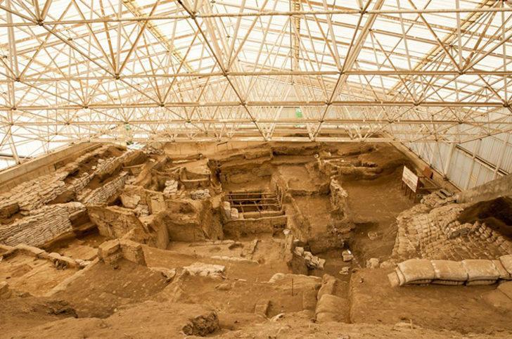 Çatalhöyük nerede? İşte Antin kenti, ören yeri hakkında kısa bilgi