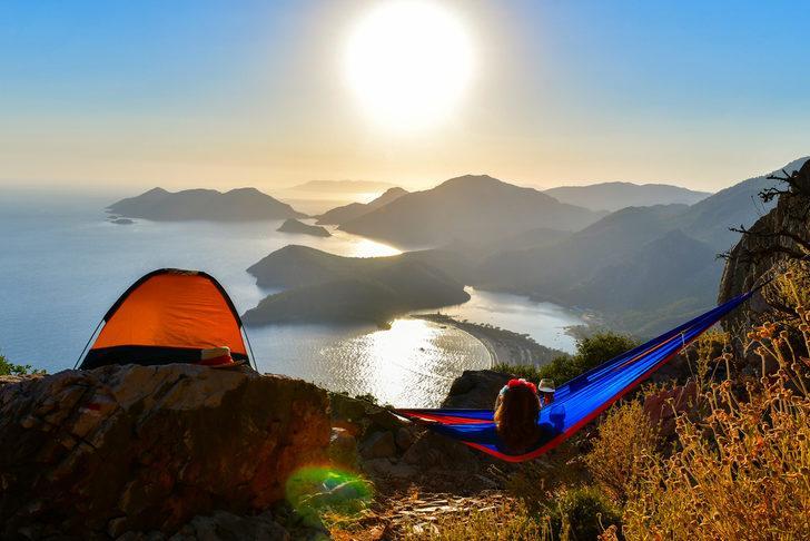 Fethiye kamp alanları - Fethiye çadır kamp alanları