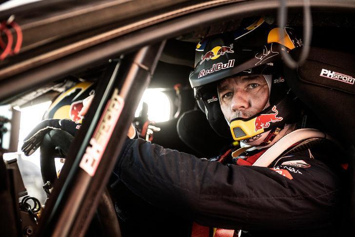 Red Bull sporcusu Sebastien Loeb Dakar Rallisi'nde yarışacak