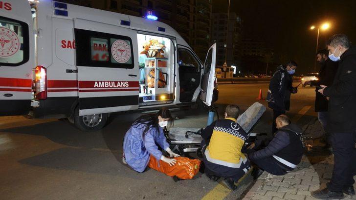 Kırıkkale'de 'dur' ihtarına uymayan sürücü polis memuruna çarpıp kaçtı