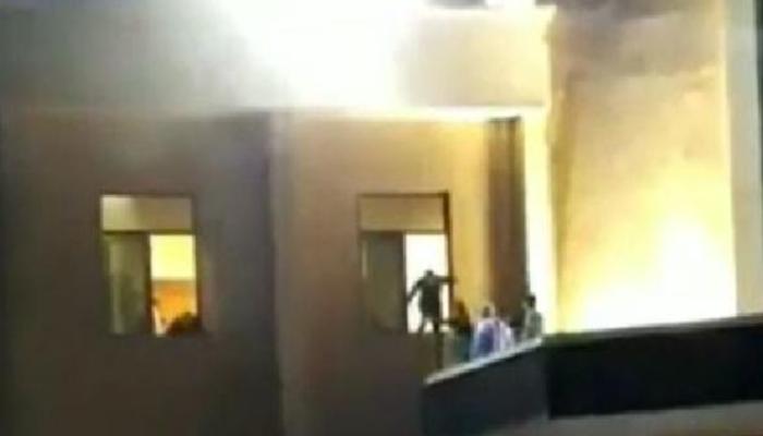 Son dakika! Gaziantep'te hastanedeki patlamadan yeni görüntüler