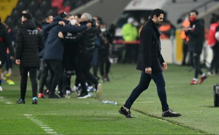 Erol Bulut: Golümüz verilmedi, penaltımız verilmedi