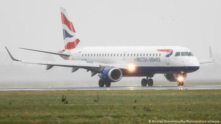 Hollanda İngiltere'den uçuşları yasakladı