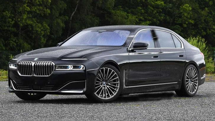 Yeni BMW 7 Serisi hayal edildi