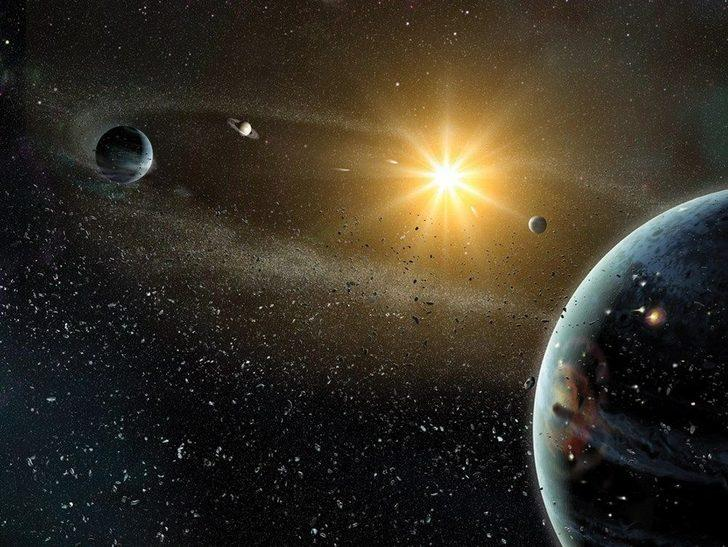 Jüpiter ve Satürn gökyüzünde 'tek bir yıldız' gibi parlayacak