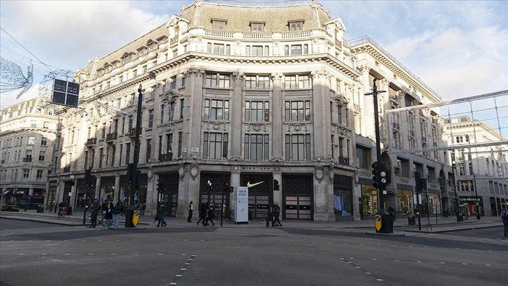İngiltere'de kapatılan mağazaların haftalık satış kaybı 2 milyar sterlin