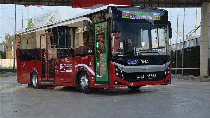BMC Azerbaycan'a 320 otobüs ihracatı gerçekleştirecek