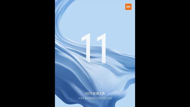 Xiaomi Mi 11 tanıtım tarihi