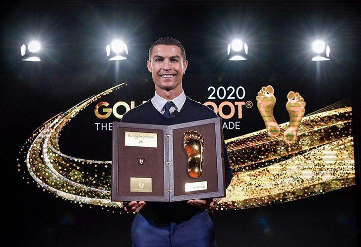 Ronaldo'nun ayak izi ölümsüzleşti