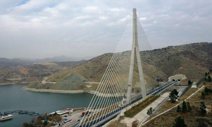 16 il için önemli proje! 'Kömürhan Köprüsü' dünyada 4. sırada yer alıyor