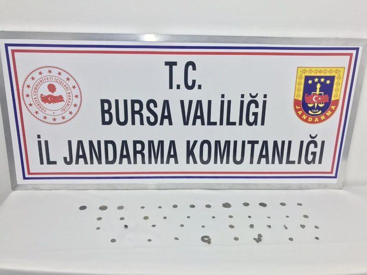 Bursa'da tarihi eser kaçakçılarına darbe