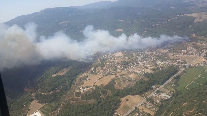 İzmir'de 430 hektar ormanın yanmasına neden olduğu iddia edilen şüpheliye dava