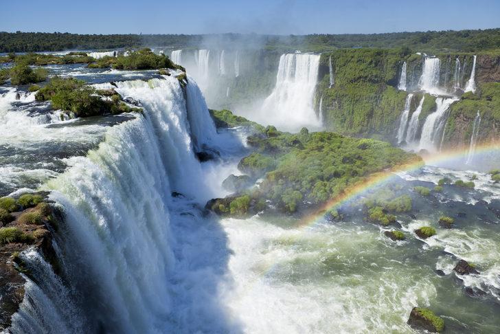 İguazu Şelalesi nerede?  İguazu şelalesi hangi ülkede? İguazu Şelalesi hakkında kısa bilgi